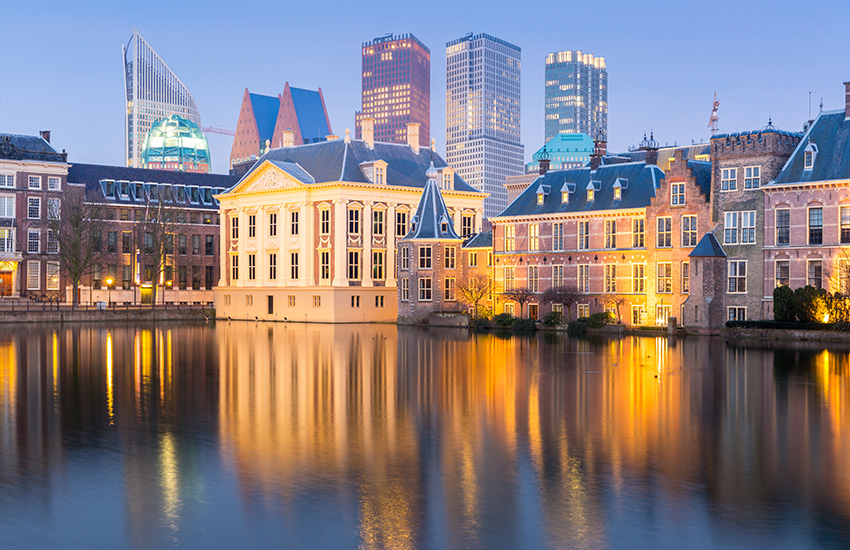 Hire a motorhome and discover The Hague with the Motorhome Travel Agency