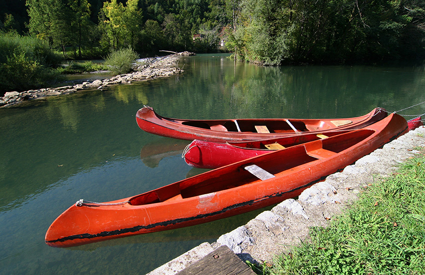 Hire a motorhome and discover the River Kolpa
