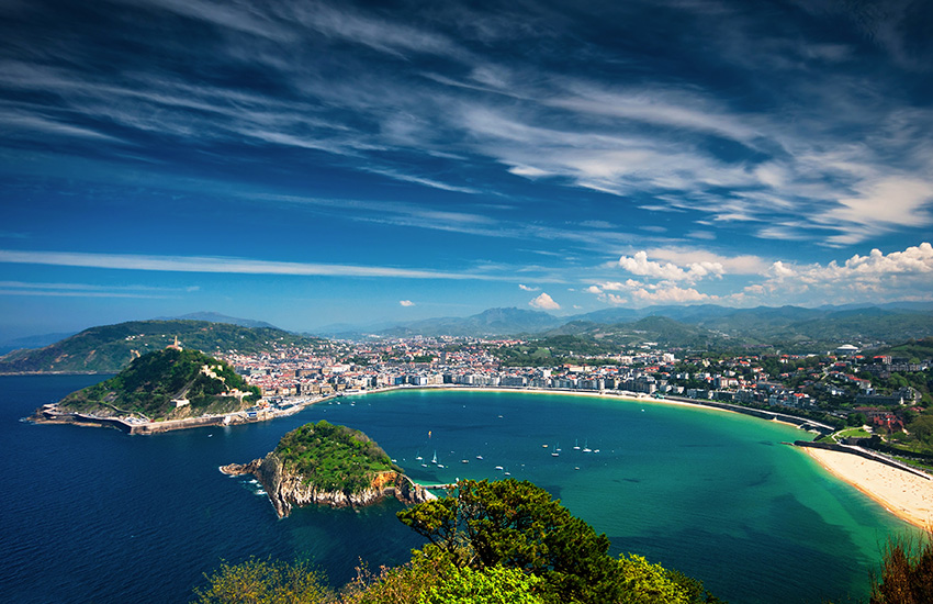 Visit San Sebastian and Bilbao in Spain by motorhome