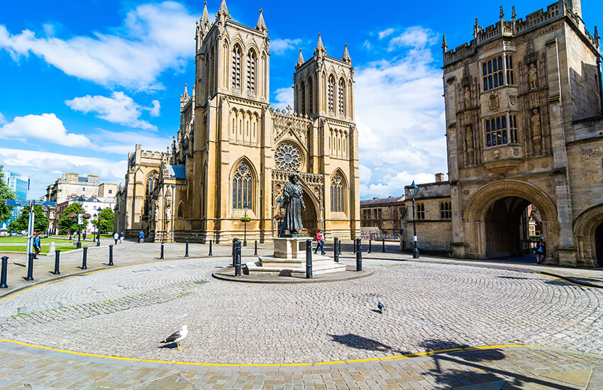 Hire a motorhome through Beautiful Bristol in the SouthWest of England