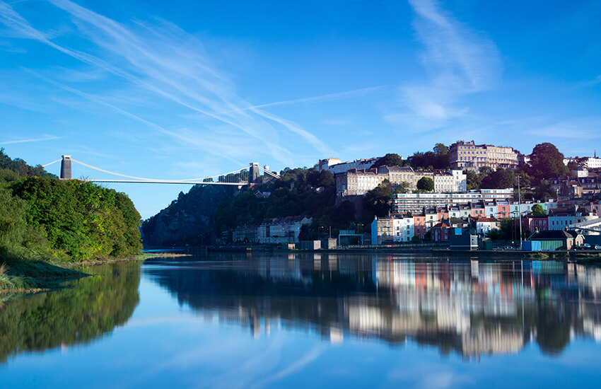 Bristol is an ideal destination for motorhome hire