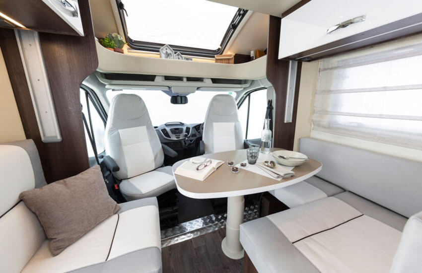 An ideal motorhome for those who enjoy entertaining