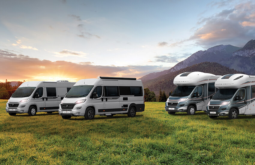 Tour around Europe and the UK in your motorhome
